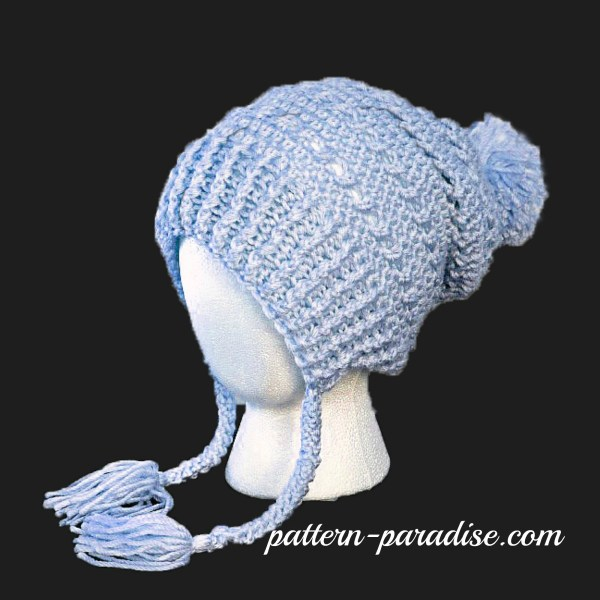 Crochet Pattern: Gracie's Winter Slouch