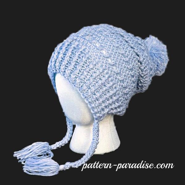 Crochet Pattern: Gracie's Winter Slouch