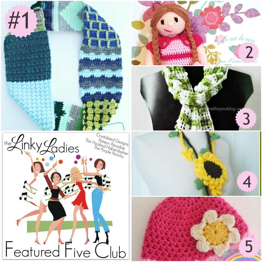 Linky Ladies Party #44 on Pattern-Paradise.com