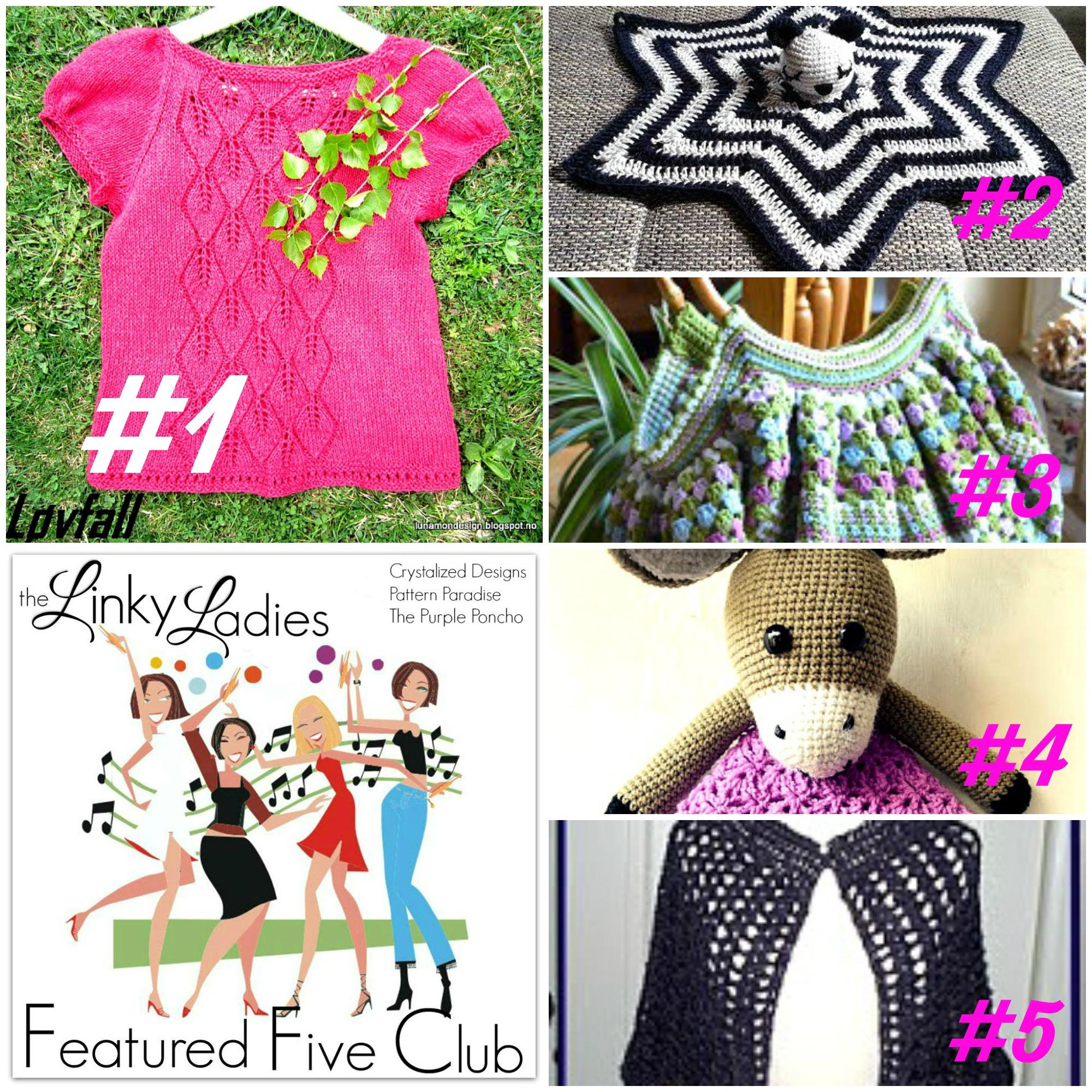 Linky Ladies Community Link Party #53 on Pattern-Paradise.com #thelinkyladies