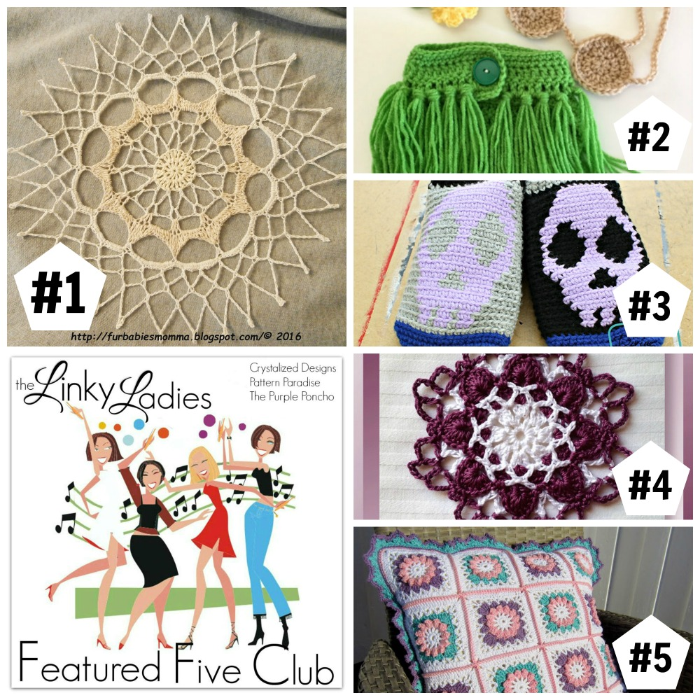 Linky Ladies Community Link Party #50 on Pattern-Paradise.com