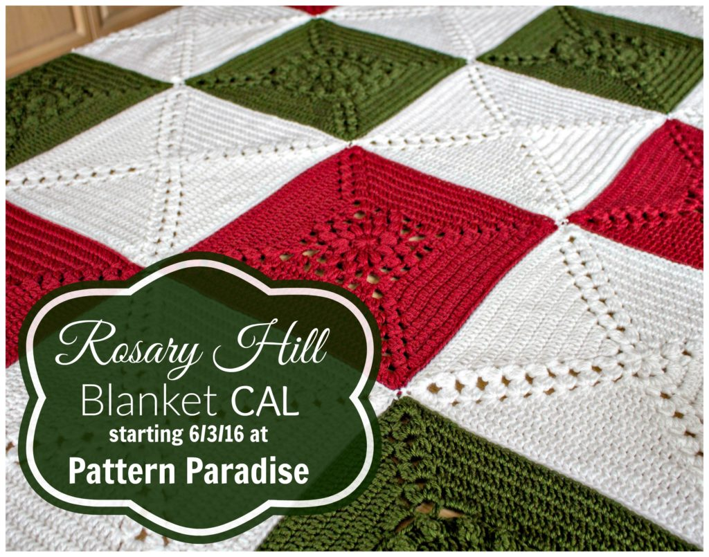 Rosary Hill Blanket CAL on Pattern-Paradise.com