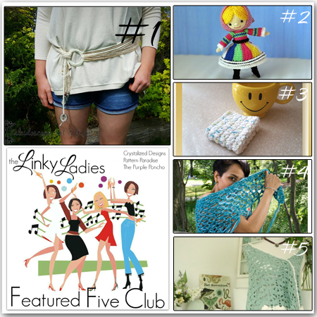 Linky Ladies Community Link Party #55 on Pattern-Paradise.com