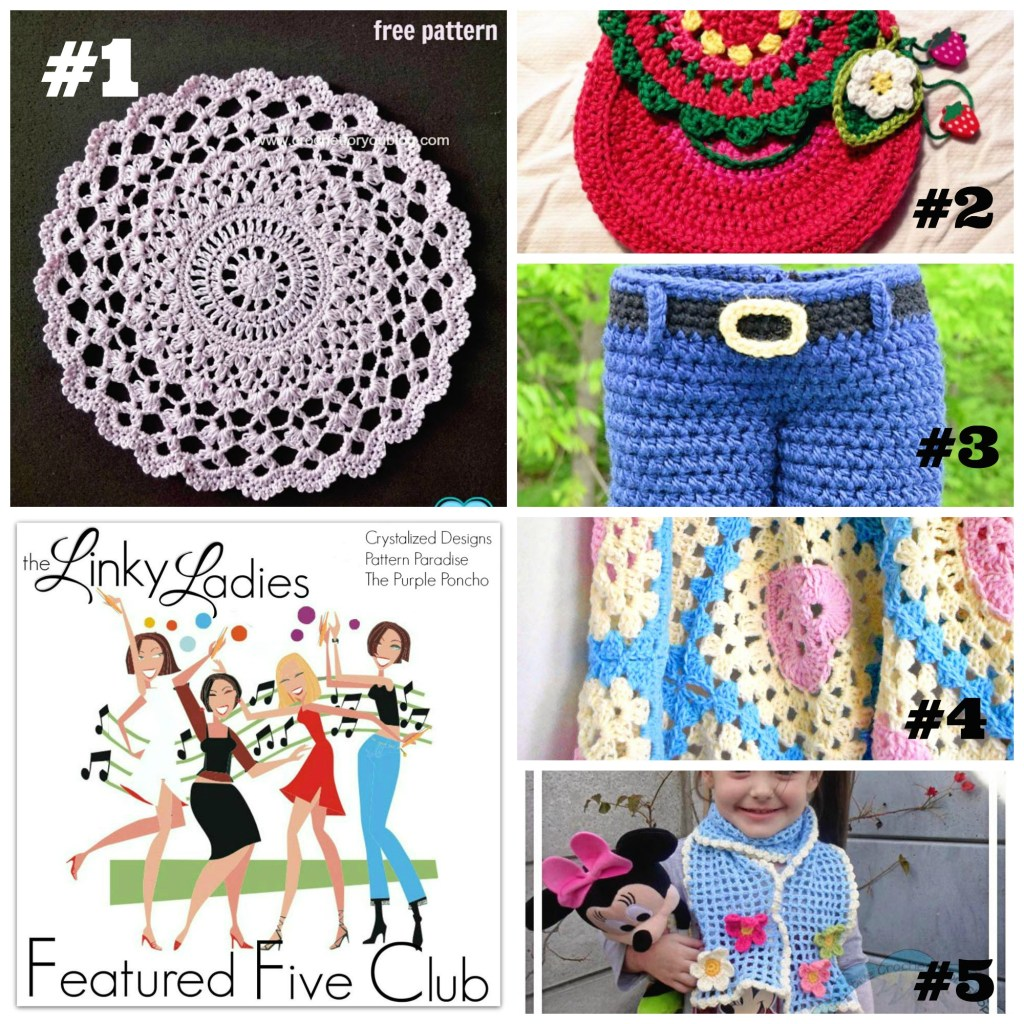 Linky Ladies Community Link Party #56 on Pattern-Paradise.com