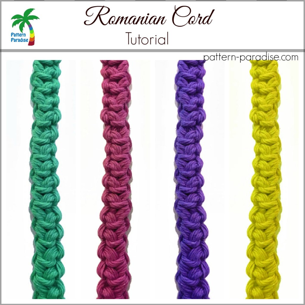Romanian Cord #2 Tutorial on Pattern-Paradise.com