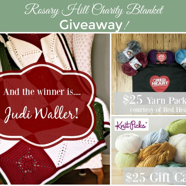 Rosary Hill Blanket Charity Project – Winner!