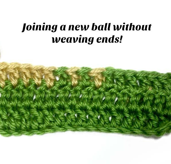 Tutorial: Joining a New Ball of Yarn Without Weaving Ends
