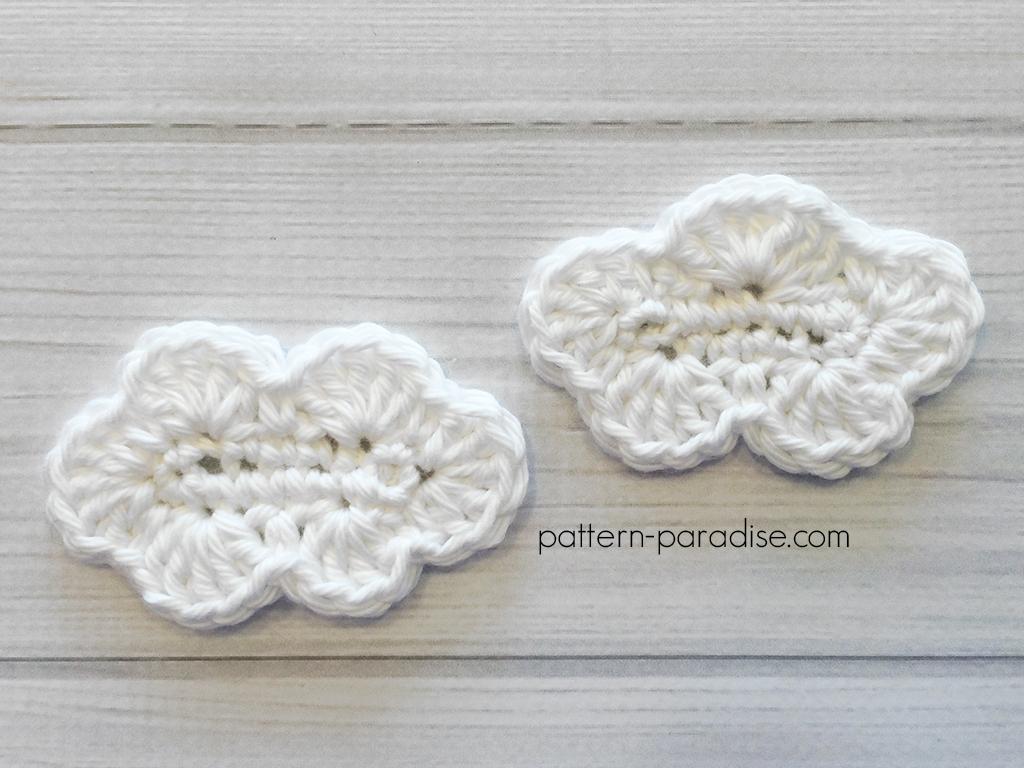 Free Crochet Pattern: Elephant Appliqué - Natalina Craft | 768x1024