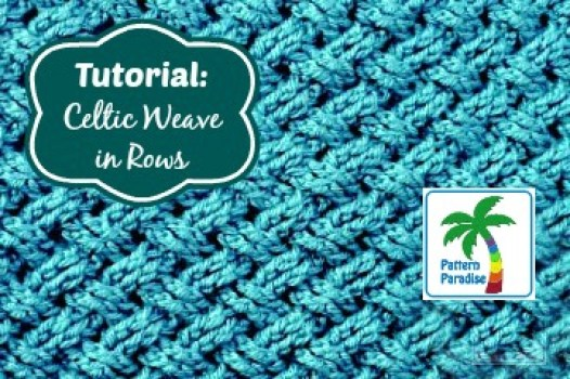 Tutorial: Celtic Weave Stitch in Rows on Pattern-Paradise.com