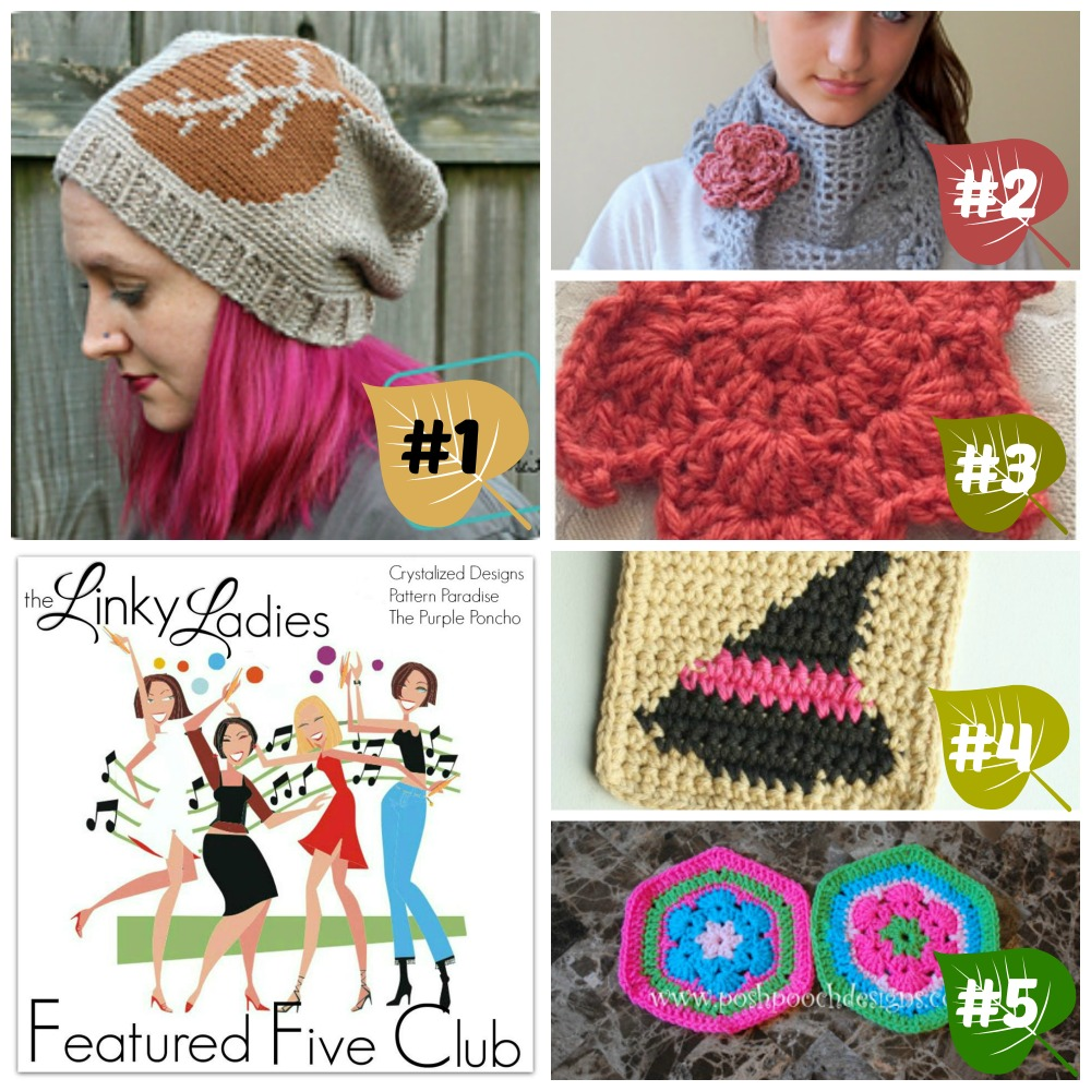 Linky Ladies Community Link Party 71 on Pattern-Paradise.com
