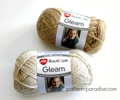 Gleam Yarn on Pattern-Paradise.com