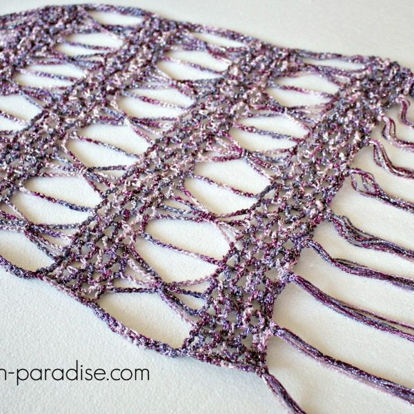 Free Crochet Pattern: Spangle Wrap Super Scarf