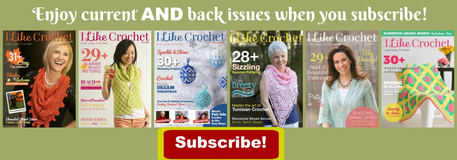 I Like Crochet Magazine on Pattern-Paradise.com