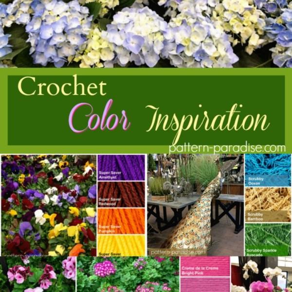 Crochet Finds – Spring Garden Color Inspiration