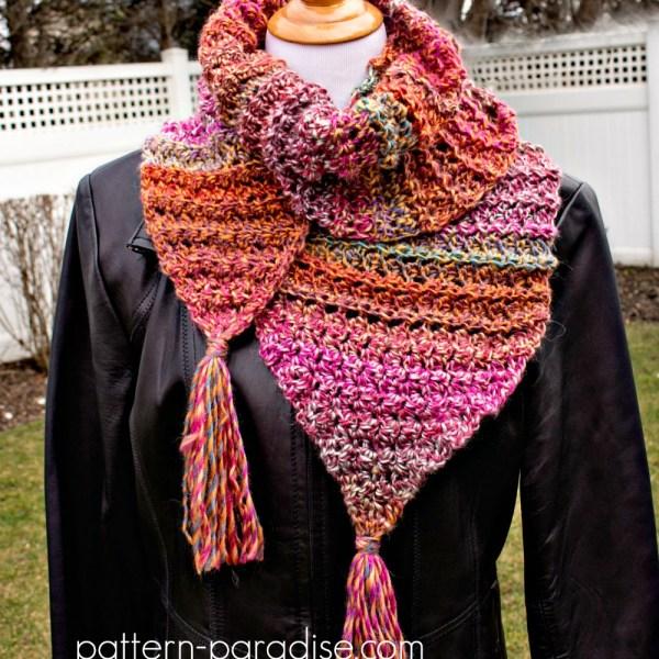 Free Crochet Pattern: Michele Scarf