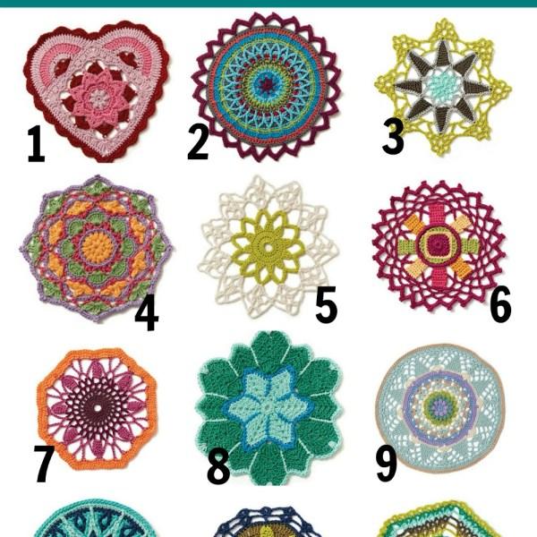 Friday Finds – Modern Crochet Mandalas