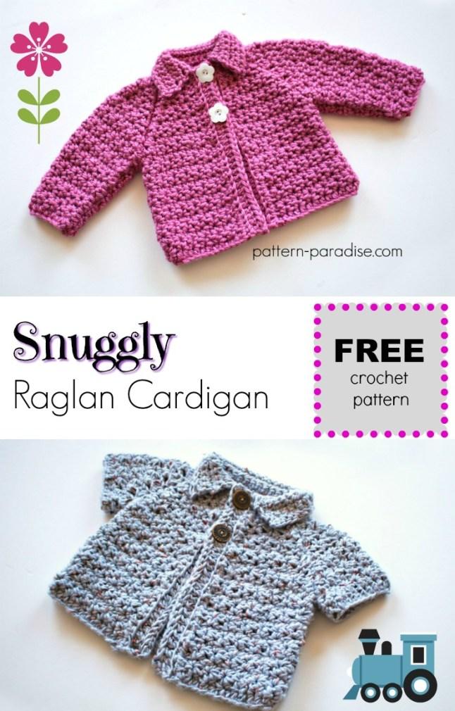 Snuggly Raglan Cardigan