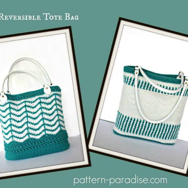 Free Crochet Pattern: Eve's Reversible Tote Bag
