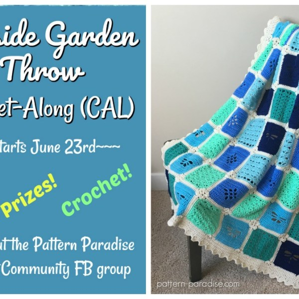 Seaside Garden Throw Crochet-Along