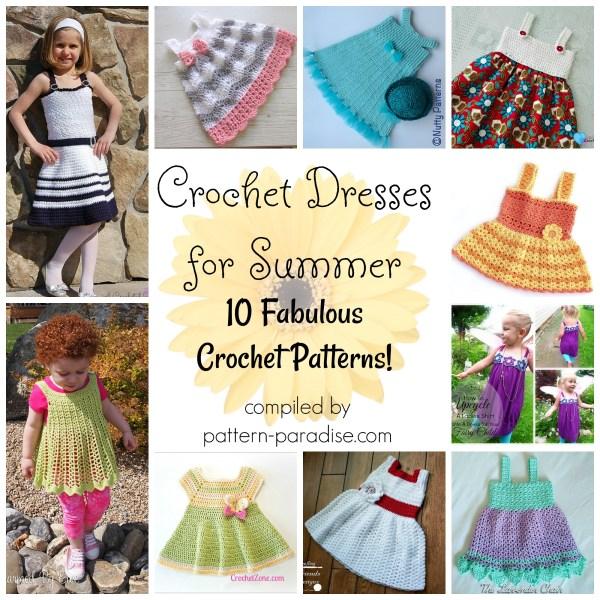 Crochet Finds – Crochet Dresses for Summer