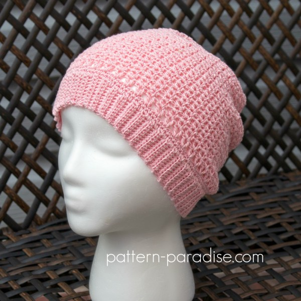 Free Crochet Pattern: Sweet Tea Beanie Hat