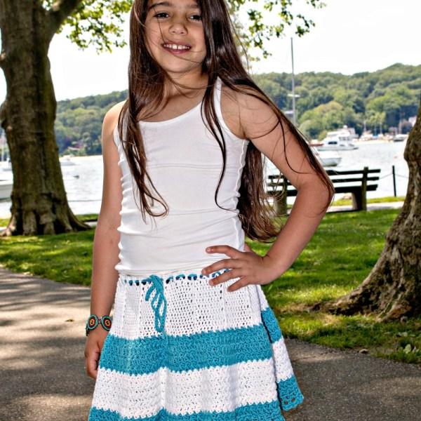 Free Crochet Pattern: Boho Flouncy Skirt
