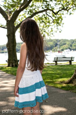 Free Crochet Pattern Boho Skirt on Pattern Paradise.com 7676