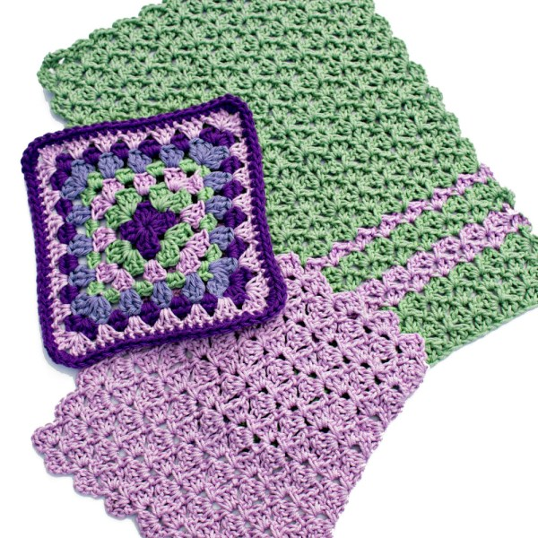 Free Crochet Pattern: Scrap Kitchen Set