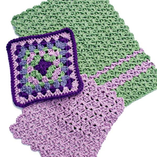 Free Crochet Pattern: Scrap Kitchen Set