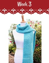 Free Crochet Pattern Dreamy Scarf by pattern-paradise.com