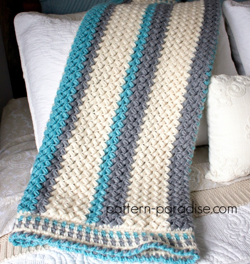Free Crochet Pattern: Pillow Soft Throw Blanket