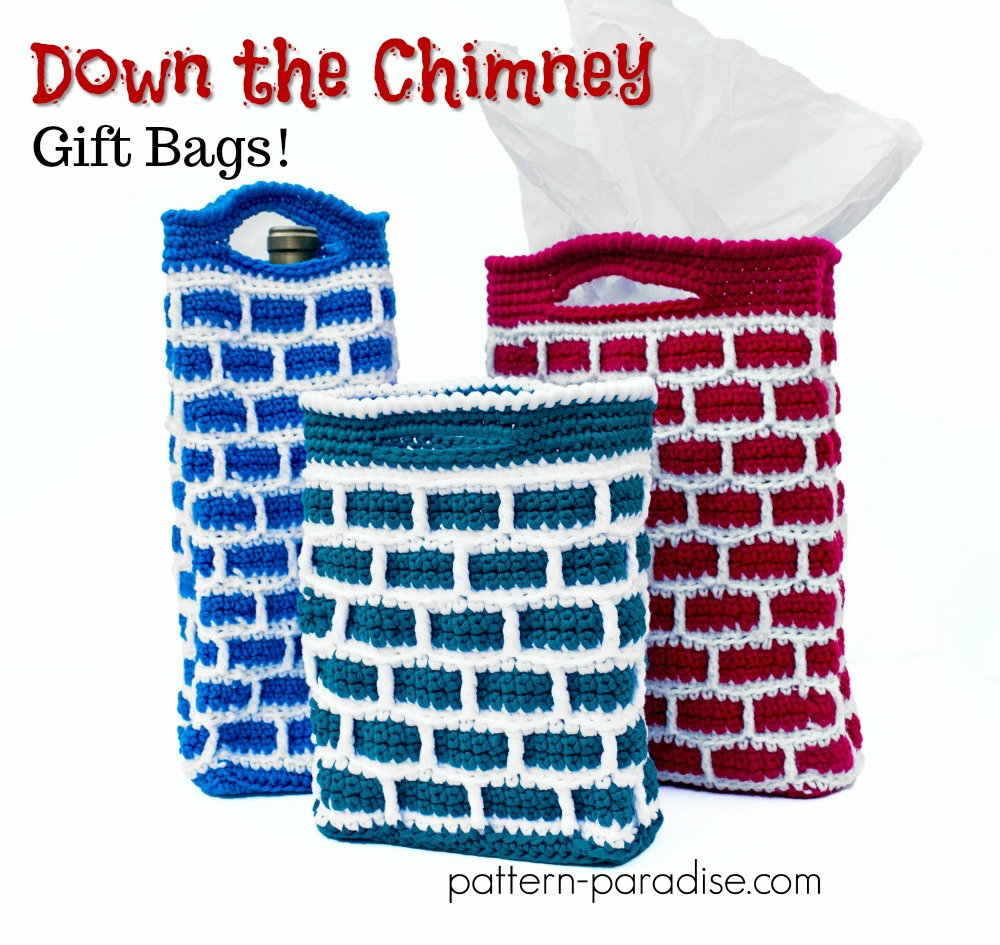 #12WeeksChristmasCAL – Down the Chimney Gift Bags