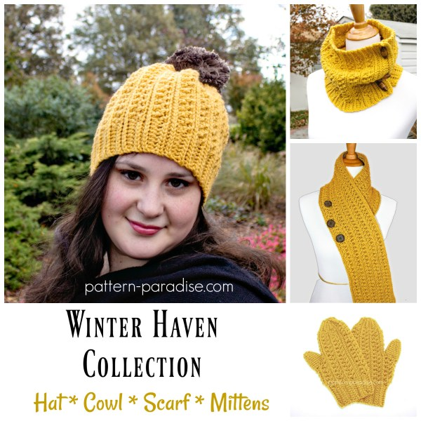 Crochet Pattern: Winter Haven Collection