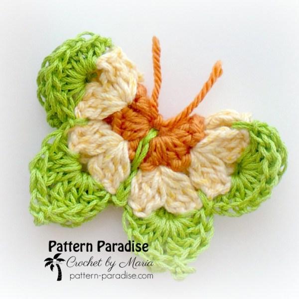 Free Crochet Pattern: Butterflies