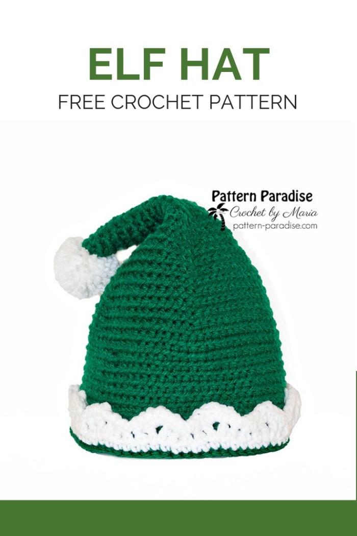 Free Crochet Pattern Elf Hat Pattern Paradise