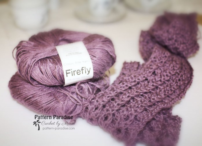 Free Crochet Pattern Eve Scarf by Pattern Paradise