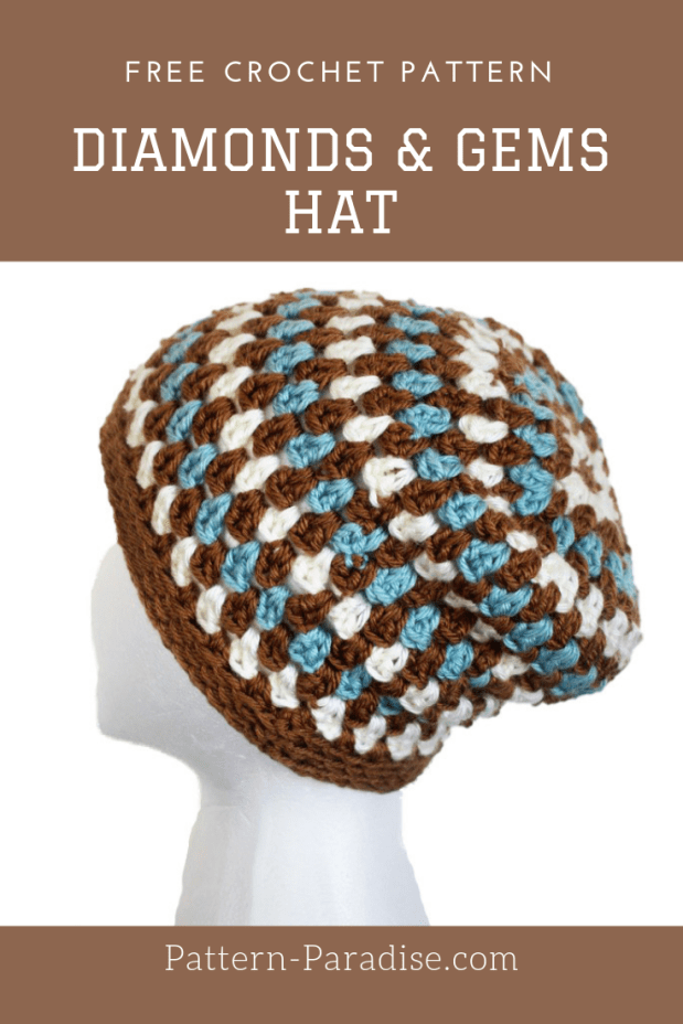 Diamonds & Gems Slouchy Hat