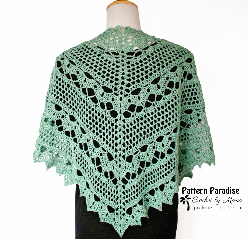 Spring Showers Shawl CAL: Ad-free PDF now available