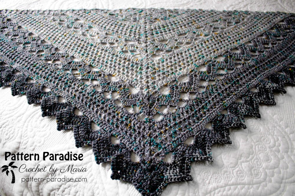 Join Me For The Spring Showers Shawl Crochet Along Cal