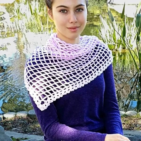 Free Crochet Pattern: Valerie Shawl