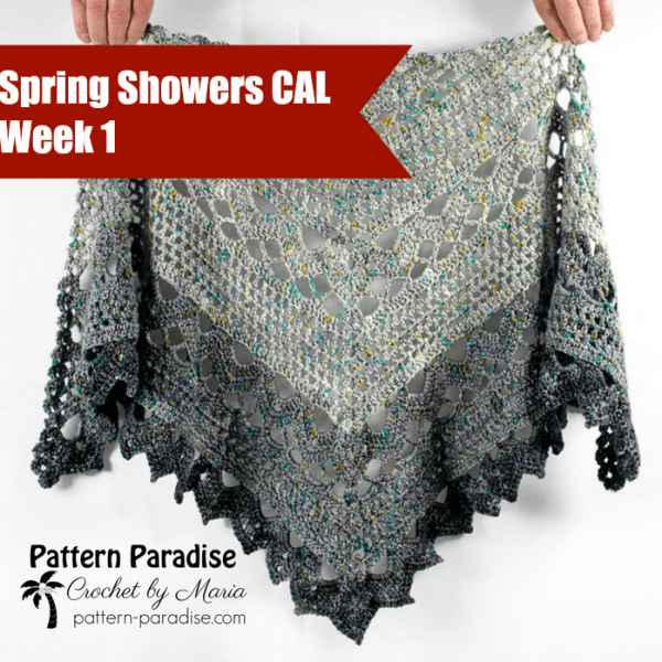 Spring Showers Shawl CAL: Part 1