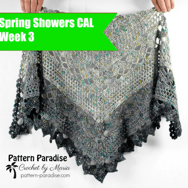Spring Showers Shawl CAL: Final