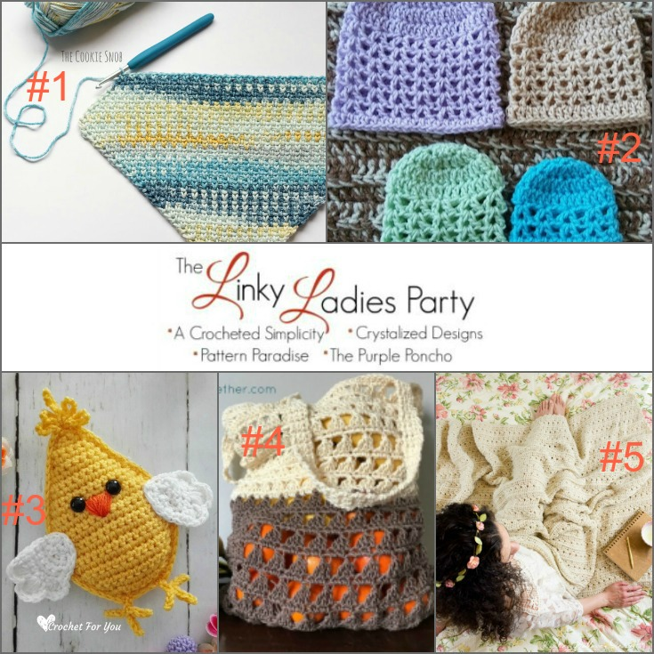 Linky Ladies Community Link Party #130 | Pattern Paradise