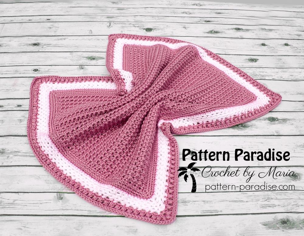 Free Crochet Pattern Skylar Blanket Pattern Paradise