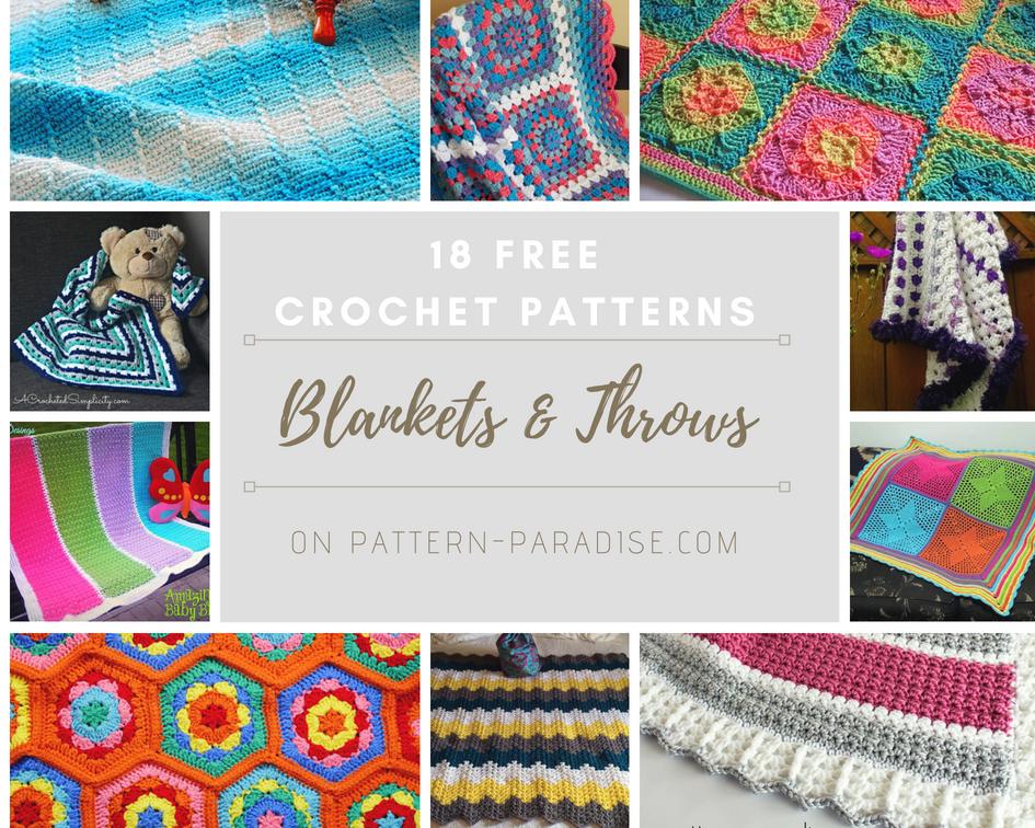 Crochet Finds – Free Blanket Patterns!