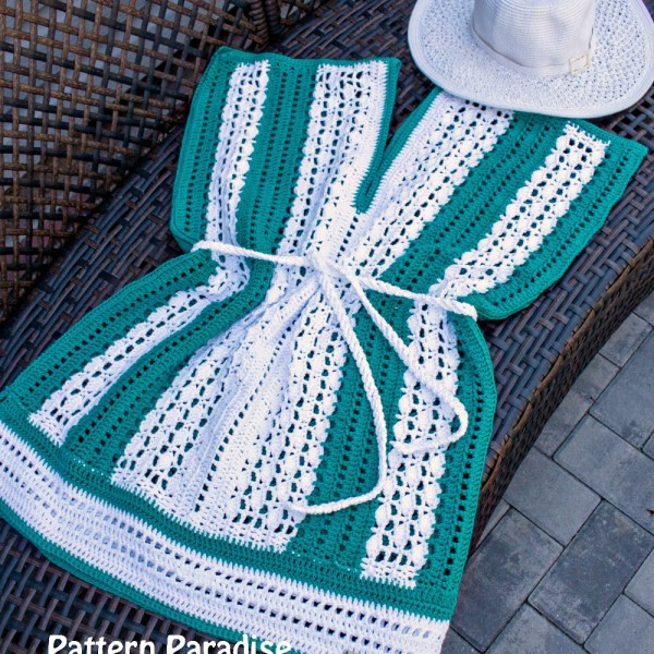 Free Crochet Pattern: Weekender Tunic & Beach Cover Up