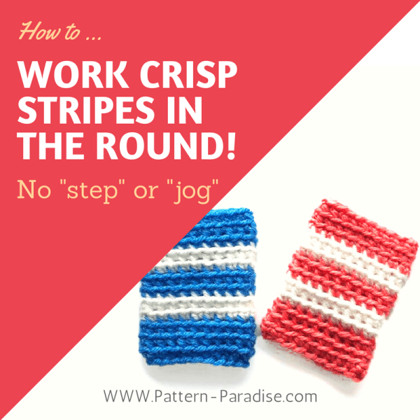 Tutorial: Crisp Stripes In The Round