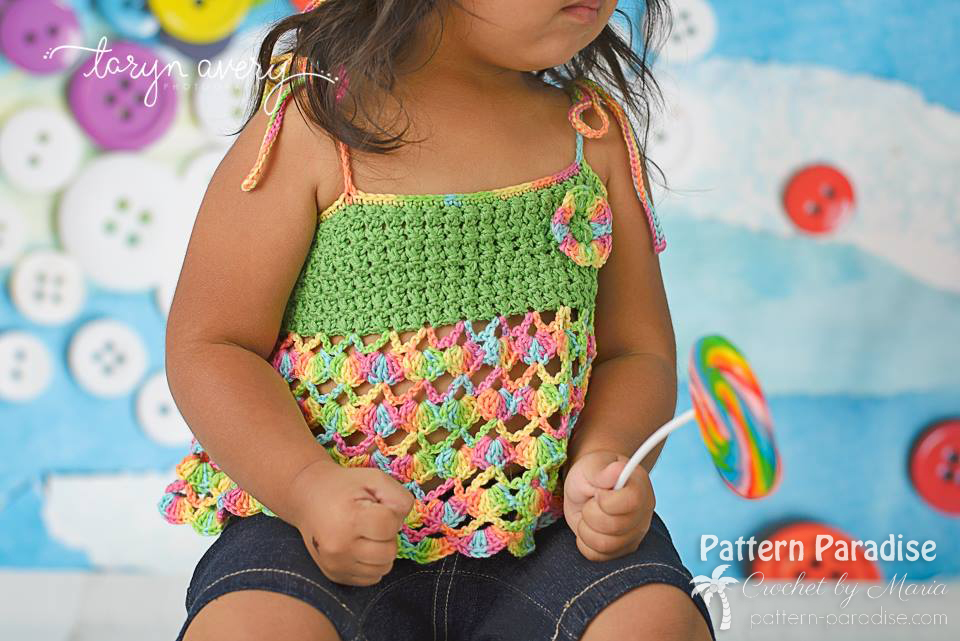 Free Crochet Pattern: All Tied Up Top | Pattern Paradise