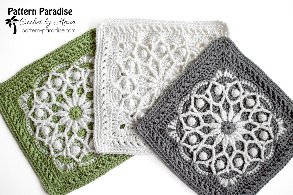 Casablanca Crochet Square