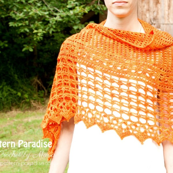 Autumn Jewels Wrap Crochet-Part 3
